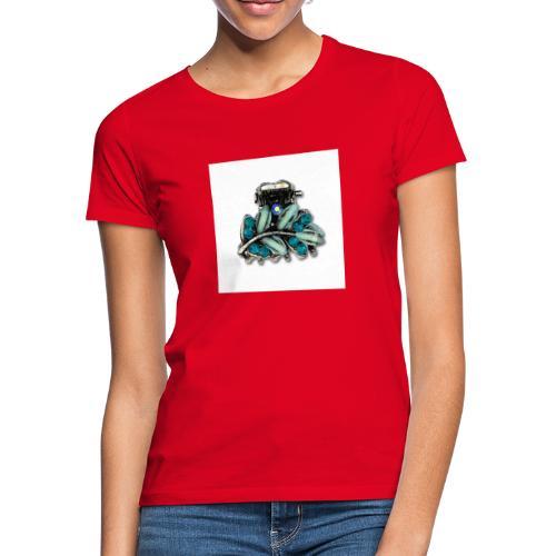 bleu - T-shirt Femme
