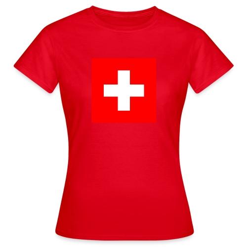 Swiss - T-shirt Femme
