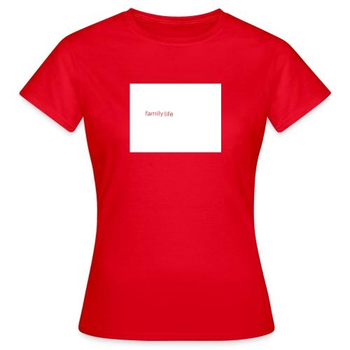 family life logo - Women's T-Shirt