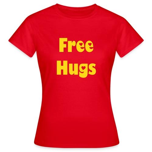 Free Hugs - Frauen T-Shirt