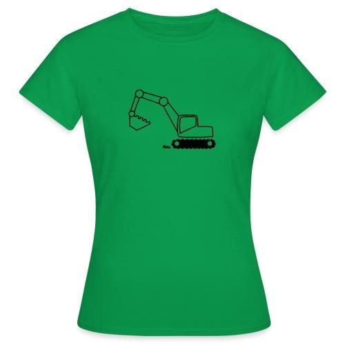 Bagger - Frauen T-Shirt