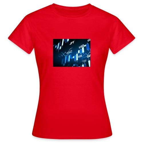 Forex is life - Frauen T-Shirt