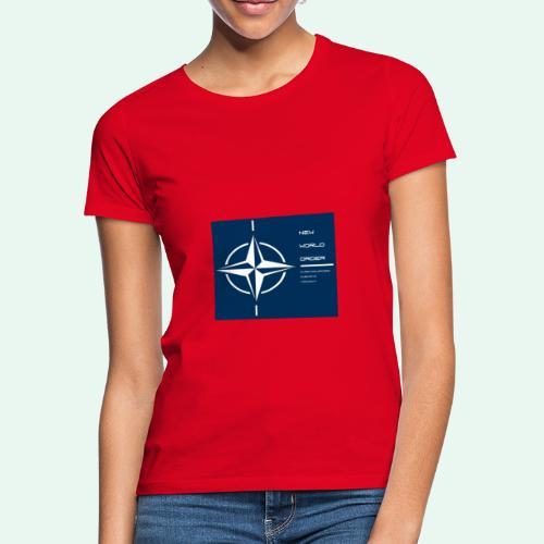 vagnacht nat - Vrouwen T-shirt