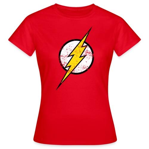 DC Comics Justice League Flash Logo - Frauen T-Shirt
