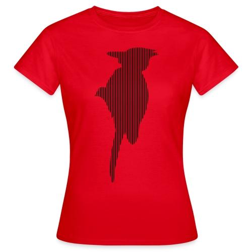 LINE BIRD 035b - Vrouwen T-shirt