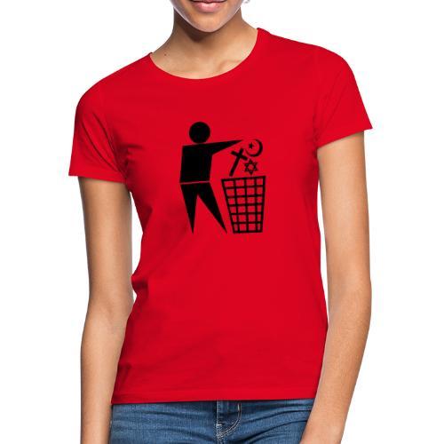 Anti Religion # 1 - Women's T-Shirt