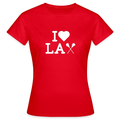 LAX I Herz - Frauen T-Shirt