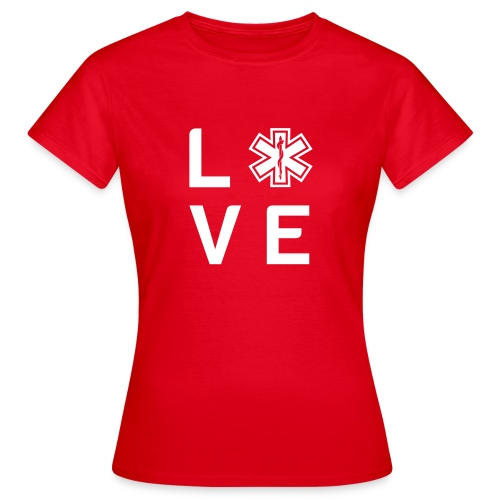 Retter Love Small - Frauen T-Shirt