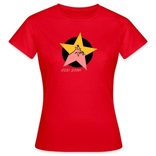 monstar03 2011VALENTIN - Frauen T-Shirt