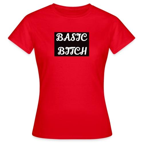Basic bitch - T-shirt dam