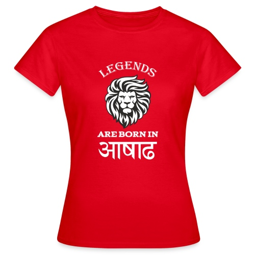 Asar, the third month of Nepali Calender - Women's T-Shirt