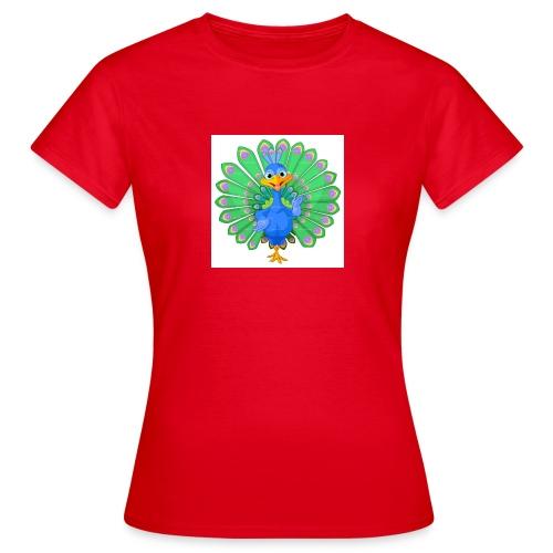 Pfau T-Shirts ,Blusen und mehr - Frauen T-Shirt