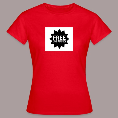 Free Shipping - Frauen T-Shirt