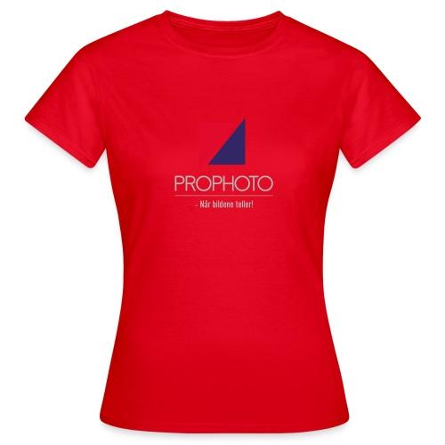 logo trykk pro - T-skjorte for kvinner