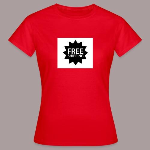 Free Shipping - Frauen T-Shirt