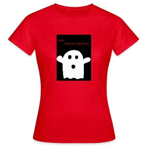 Cute Ghost - Naisten t-paita
