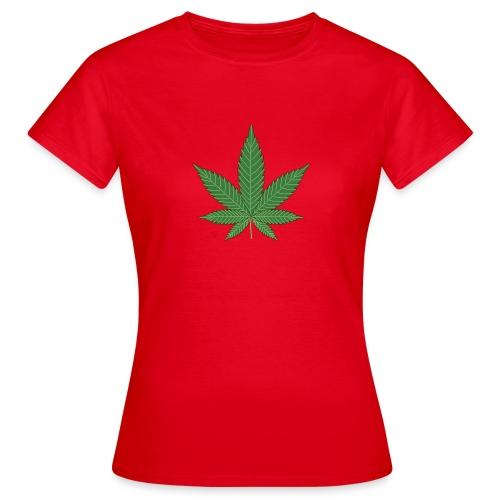 weed - Camiseta mujer