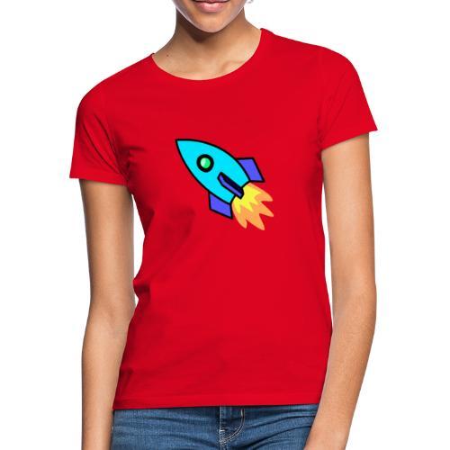 Blue rocket - Women's T-Shirt
