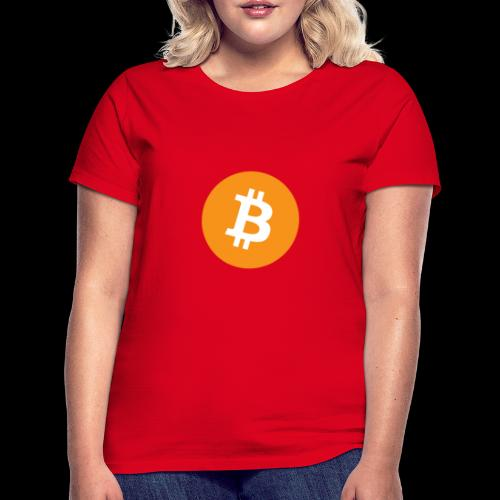bitcoin logo - Frauen T-Shirt