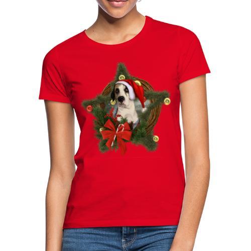 Christmas Dog - Maglietta da donna