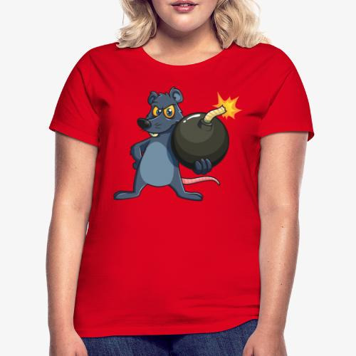 BombRat Lunte brennt - Frauen T-Shirt