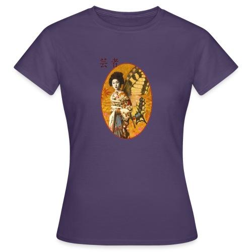Vintage Japanese Geisha Oriental Design - Women's T-Shirt