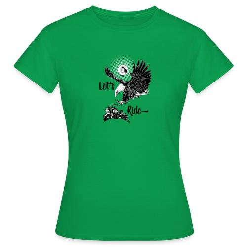 Baldeagle met een panhead - Vrouwen T-shirt
