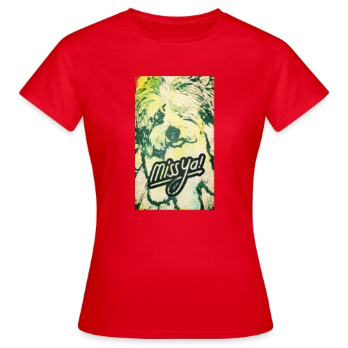 Musste, süsser Hund - Frauen T-Shirt