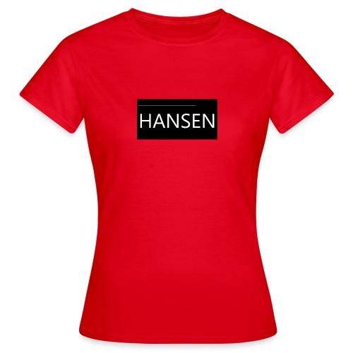 HANSENLOGO - Dame-T-shirt