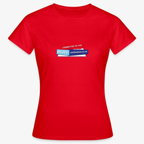 Committed to the Blues website logo - Women's T-Shirt