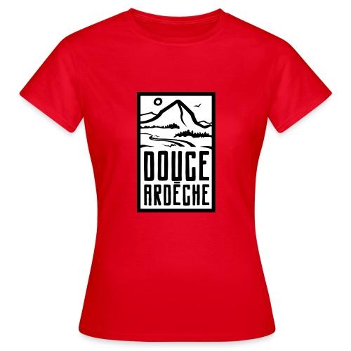 Douce Ardèche Logo - T-shirt Femme