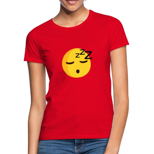 emoji sleep - T-shirt Femme