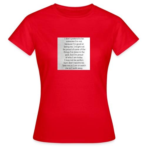 Be true, Be you - Frauen T-Shirt