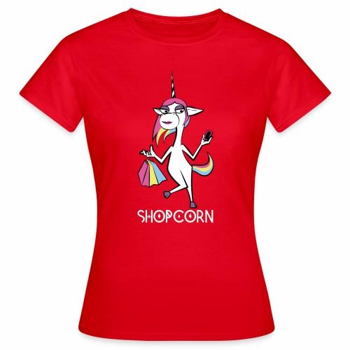 ShopCorn - Frauen T-Shirt