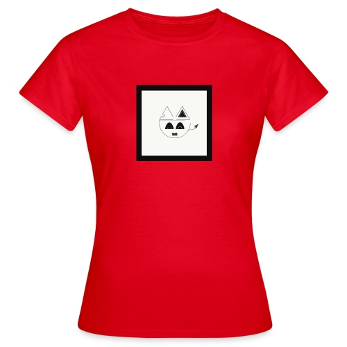 Geometric cat head - T-shirt Femme