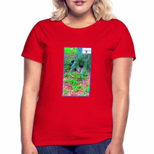 Natur Baum Wurzeln Maria 12 - Frauen T-Shirt