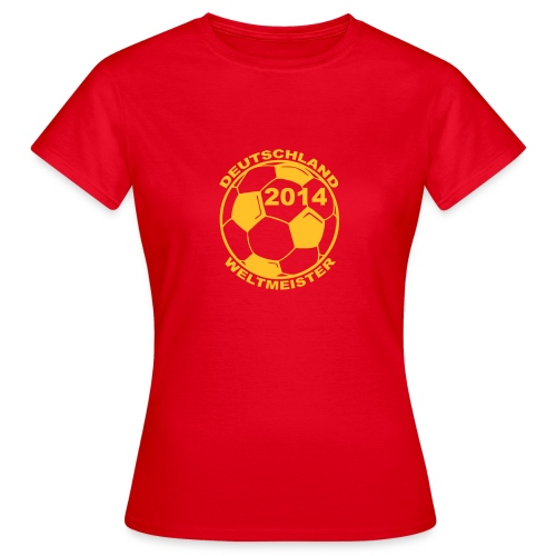 Deutschland Weltmeister - Naisten t-paita