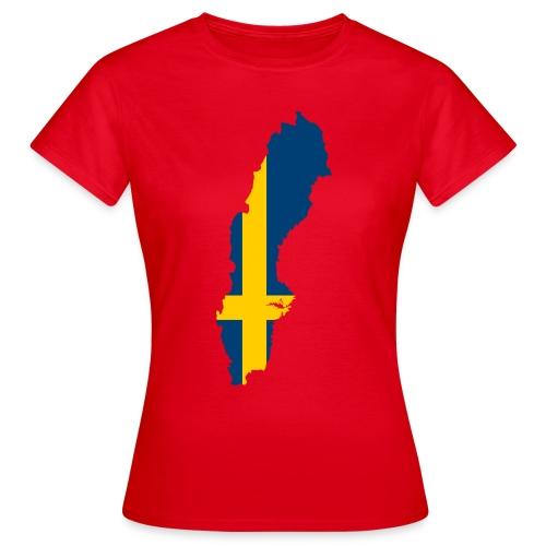 Sweden - Vrouwen T-shirt