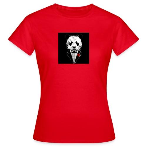 strak in panda pak - Vrouwen T-shirt