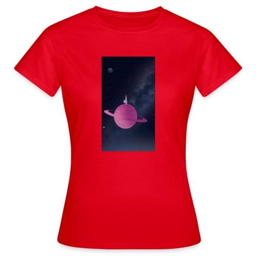 La fille de l'univers - T-shirt Femme