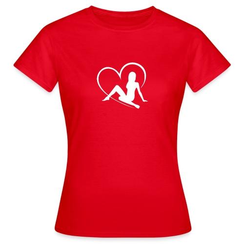flirtfair logo woman - Women's T-Shirt