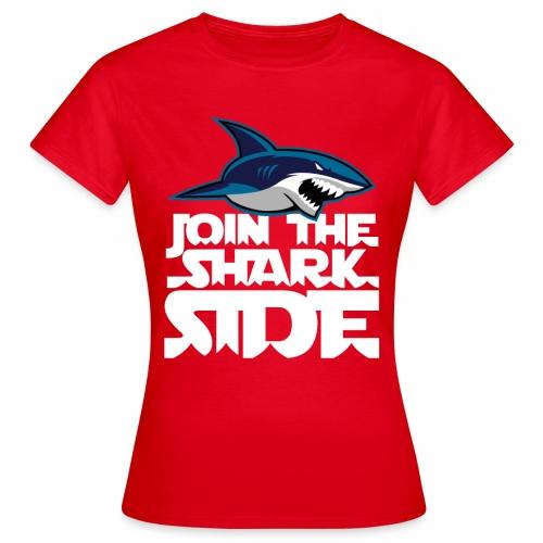 Join the shark side - T-shirt dam