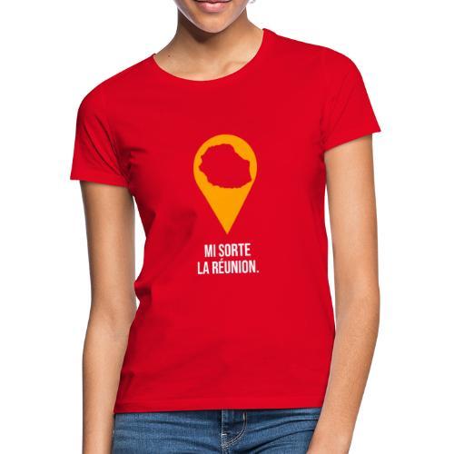 Mi sorte la réunion - T-shirt Femme