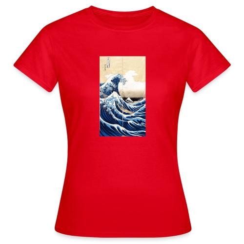 La grande vague de Kanagawa - T-shirt Femme