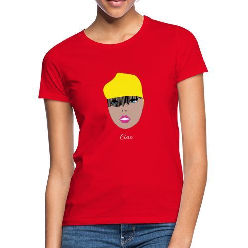 Yellow lady - T-shirt dam