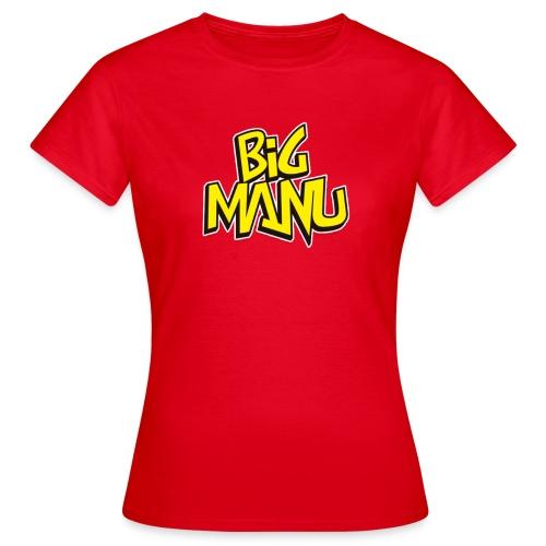 BigManuPRO LOGO - Camiseta mujer