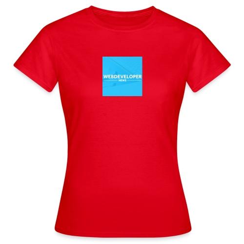 Web developer News - Frauen T-Shirt