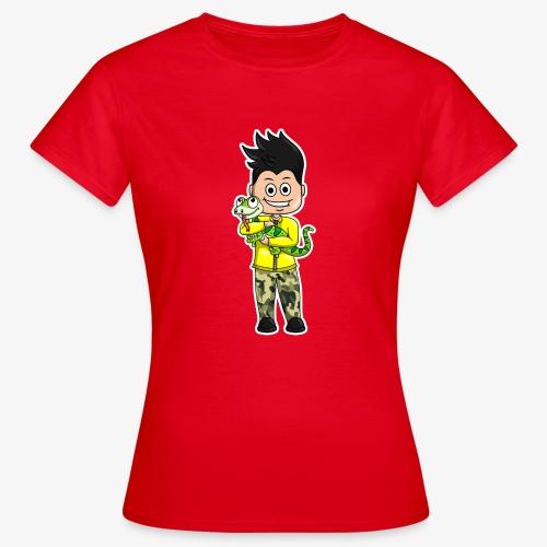 Tomu och ödlan - T-shirt dam