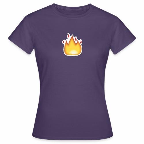 Liekkikuviollinen vaate - Naisten t-paita