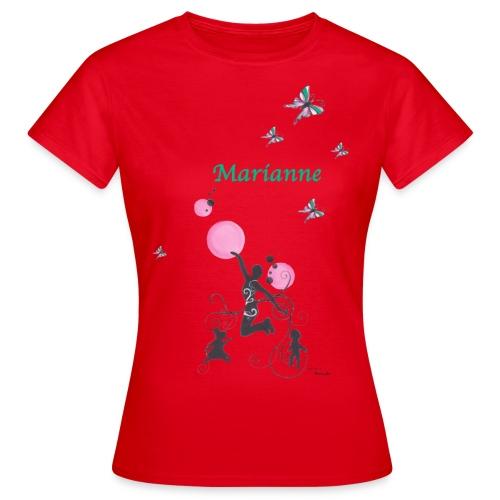 dames marianne - Vrouwen T-shirt